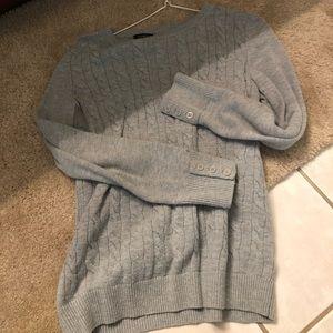 Grey Talbots small sweater